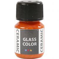 Glass Ceramic, orange, 35 ml/ 1 fl.