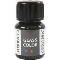 Glass Ceramic, sort, 35 ml/ 1 fl.