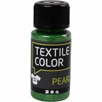 Textile Color, perlemor, brilliantgrøn, 50 ml/ 1 fl.