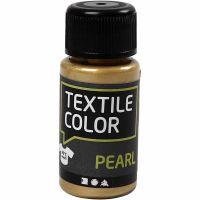 Textile Color, perlemor, guld, 50 ml/ 1 fl.
