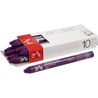 Neocolor I, L: 10 cm, tykkelse 8 mm, lilac (110), 10 stk./ 1 pk.