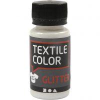 Textile Color, glitter, transparent, 50 ml/ 1 fl.