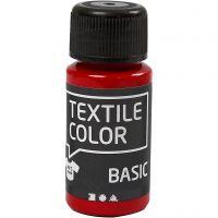 Textile Color, rød, 50 ml/ 1 fl.