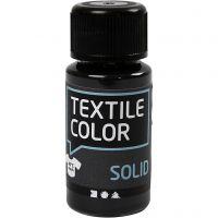 Textile Solid, dækkende, sort, 50 ml/ 1 fl.