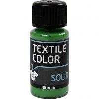 Textile Solid, dækkende, brilliantgrøn, 50 ml/ 1 fl.