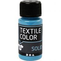 Textile Solid, dækkende, turkisblå, 50 ml/ 1 fl.