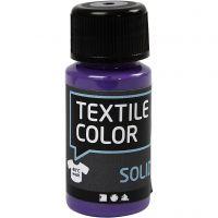 Textile Solid, dækkende, lilla, 50 ml/ 1 fl.