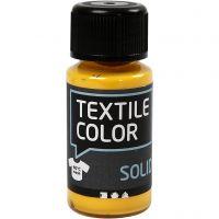 Textile Solid, dækkende, gul, 50 ml/ 1 fl.