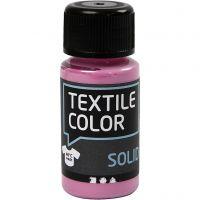 Textile Solid, dækkende, pink, 50 ml/ 1 fl.