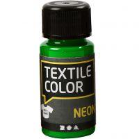 Textile Color, neon grøn, 50 ml/ 1 fl.