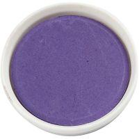 Vandfarve, diam. 30 mm, violet, 12 stk./ 1 pk.