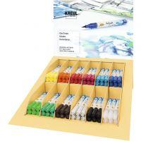 SOLO GOYA Aqua Paint Marker, ass. farver, 12x6 stk./ 1 pk.
