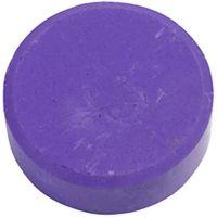 Vandfarve, H: 19 mm, diam. 57 mm, lilla, 6 stk./ 1 pk.