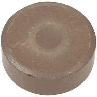 Vandfarve, H: 19 mm, diam. 57 mm, brun, 6 stk./ 1 pk.