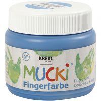 Fingermaling, blå, 150 ml/ 1 ds.