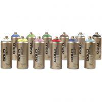 Spraymaling, 12x400 ml/ 1 pk.