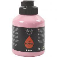 Pigment Art School, dækkende, støvet rosa, 500 ml/ 1 fl.