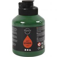 Pigment Art School, halvtransparent, mørk grøn, 500 ml/ 1 fl.