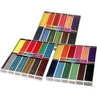 Colortime farveblyanter, ass. farver, 576 stk./ 1 pk.