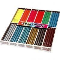 Colortime farveblyanter, L: 17,45 cm, mine 4 mm, 144 stk./ 1 pk.