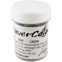 Paver Color, grøn, 40 ml/ 1 fl.