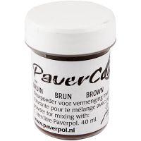 Paver Color, brun, 40 ml/ 1 fl.