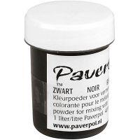 Paver Color, sort, 40 ml/ 1 ds.