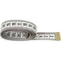 Målebånd, L: 150 cm, 6 stk./ 1 pk.