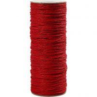 Papirgarn, tykkelse 1,8 mm, rød, 470 m/ 1 rl., 250 g