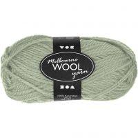Melbourne uldgarn, L: 92 m, lys grøn, 50 g/ 1 ngl.