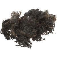 Krøluld, mørk grå, 100 g/ 1 bdt.