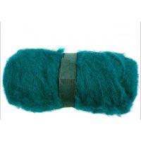 Kartet uld, grøn, 100 g/ 1 bdt.