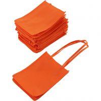 Mulepose, str. 20x15x7 cm, orange, 20 stk./ 1 pk.