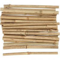Bambuspinde, L: 20 cm, tykkelse 8-15 mm, 30 stk./ 1 pk.