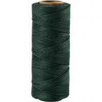 Bambussnor, tykkelse 1 mm, grøn, 65 m/ 1 rl.