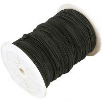 Imiteret ruskind, tykkelse 3 mm, sort, 100 m/ 1 rl.