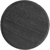Magnet, diam. 20 mm, tykkelse 3 mm, 50 stk./ 1 pk.