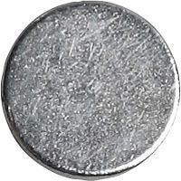 Powermagnet, diam. 10 mm, tykkelse 2 mm, 100 stk./ 1 pk.
