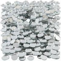 Spejlmosaik, rund, diam. 10 mm, 500 stk./ 1 pk.