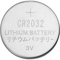 Knapcellebatteri, diam. 20 mm, 6 stk./ 1 pk.