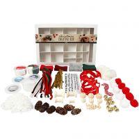 Kreativ kasse, Traditionel jul, 1 sæt