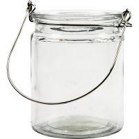 Lanterne, H: 10 cm, diam. 7,6 cm, 12 stk./ 1 ks.