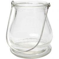 Lanterne, H: 10 cm, diam. 9 cm, 12 stk./ 1 ks.