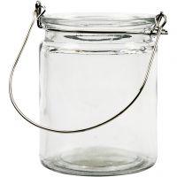 Lanterne, H: 10 cm, diam. 7,6 cm, 2 stk./ 1 pk.