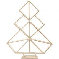 Juletræ, H: 60 cm, B: 47 cm, 1 stk.