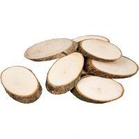 Træskiver, tykkelse 8 mm, 20 stk./ 1 pk.