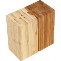 Salt- og pebersæt, H: 9 cm, B: 5 cm, hulstr. 3 mm, 1 sæt