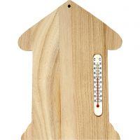 Termometer-hus, str. 23,5x16,5 cm, 1 stk.