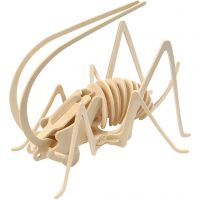 3D Puslespil, fårekylling, str. 22,5x15x18 cm, 1 stk.