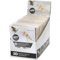 3D Puslespil med APP, H: 11,5-22 cm, 48 stk./ 1 pk.